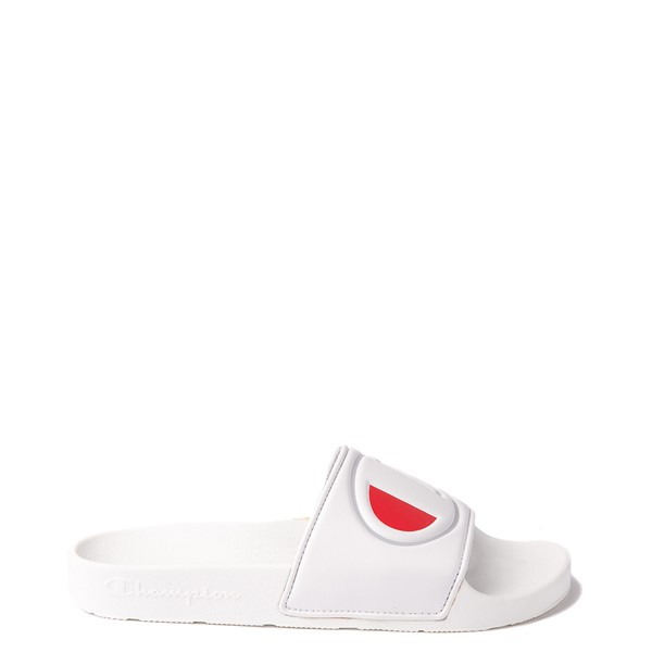 Main view of Womens Champion IPO Slide Sandal - White