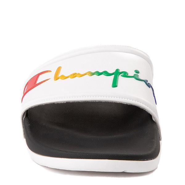 alternate view Womens Champion IPO Squish Slide Sandal - WhiteALT4