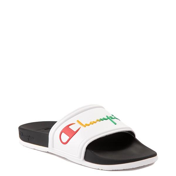 alternate view Womens Champion IPO Squish Slide Sandal - WhiteALT5