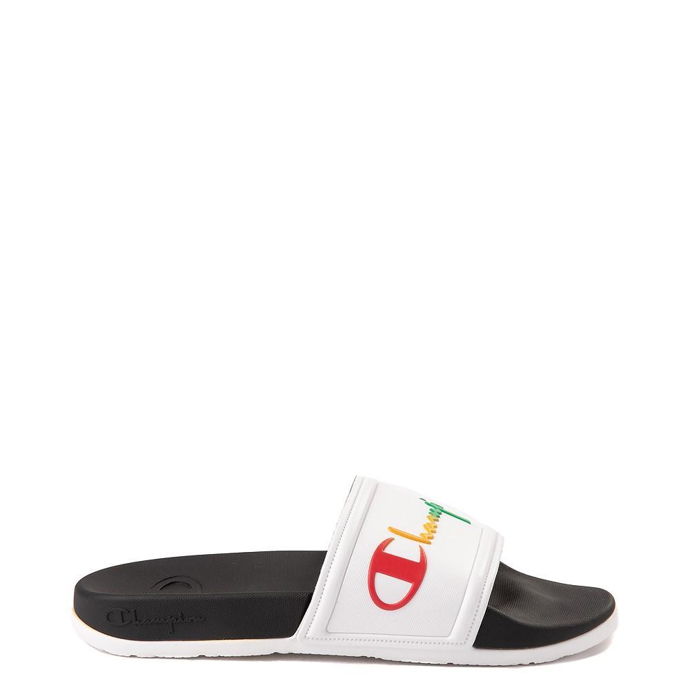 Womens Champion IPO Squish Slide Sandal - White