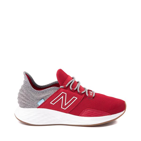 Mens New Balance Fresh Foam Roav Athletic Shoe - Burgundy / Gray / White
