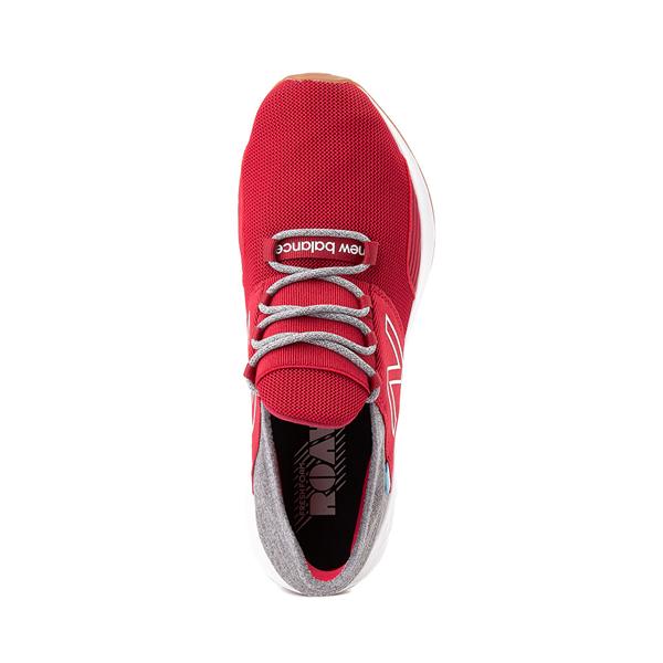 alternate view Mens New Balance Fresh Foam Roav Athletic Shoe - Burgundy / Gray / WhiteALT2