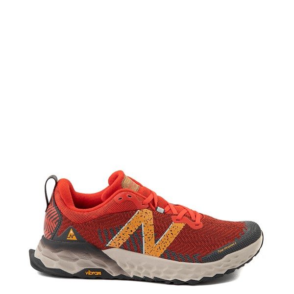 Main view of Mens New Balance Fresh Foam Hierro V6 Athletic Shoe - Ghost Pepper / Habanero