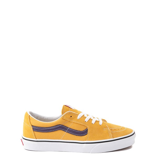 Main view of Vans Sk8 Low Skate Shoe - Honey Gold / Purple