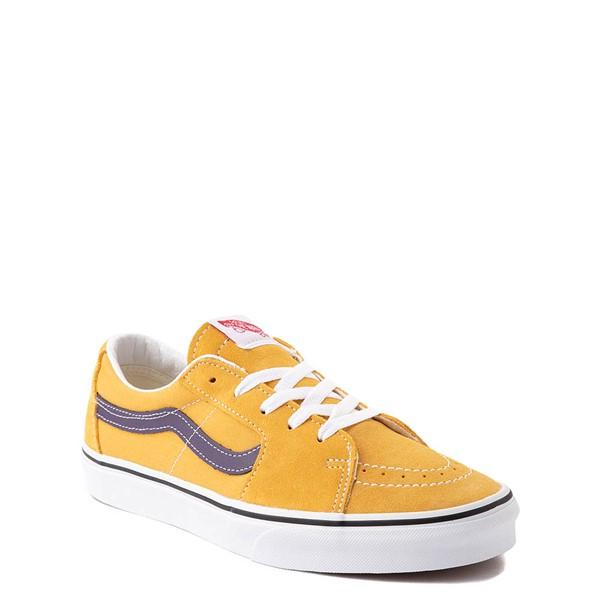 alternate view Vans Sk8 Low Skate Shoe - Honey Gold / PurpleALT1