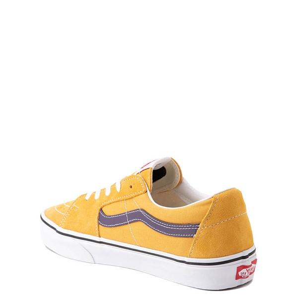 alternate view Vans Sk8 Low Skate Shoe - Honey Gold / PurpleALT2