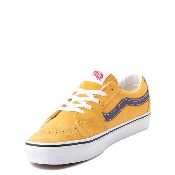 alternate view Vans Sk8 Low Skate Shoe - Honey Gold / PurpleALT3