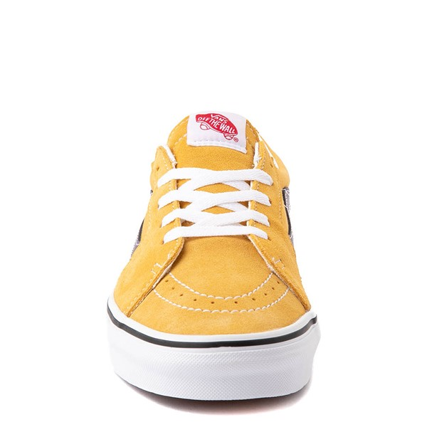 alternate view Vans Sk8 Low Skate Shoe - Honey Gold / PurpleALT4