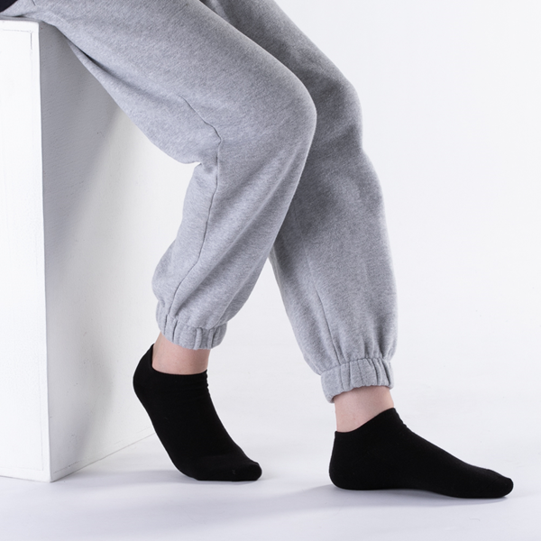 alternate view Womens Footies 5 Pack - BlackALT1
