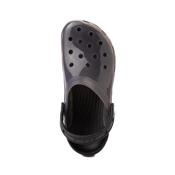 alternate view Crocs Classic Translucent Clog - BlackALT2