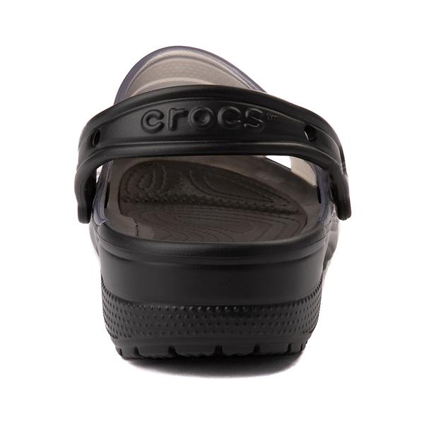 alternate view Crocs Classic Translucent Clog - BlackALT4