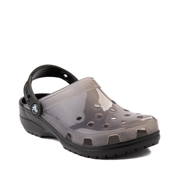 alternate view Crocs Classic Translucent Clog - BlackALT5