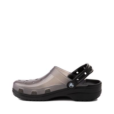 Alternate view of Crocs Classic Translucent Clog - Black