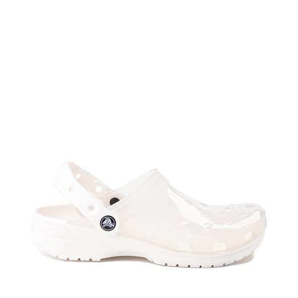 Crocs Classic Translucent Clog - White