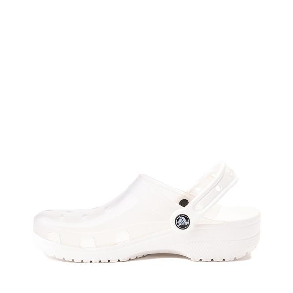 alternate view Crocs Classic Translucent Clog - WhiteALT1