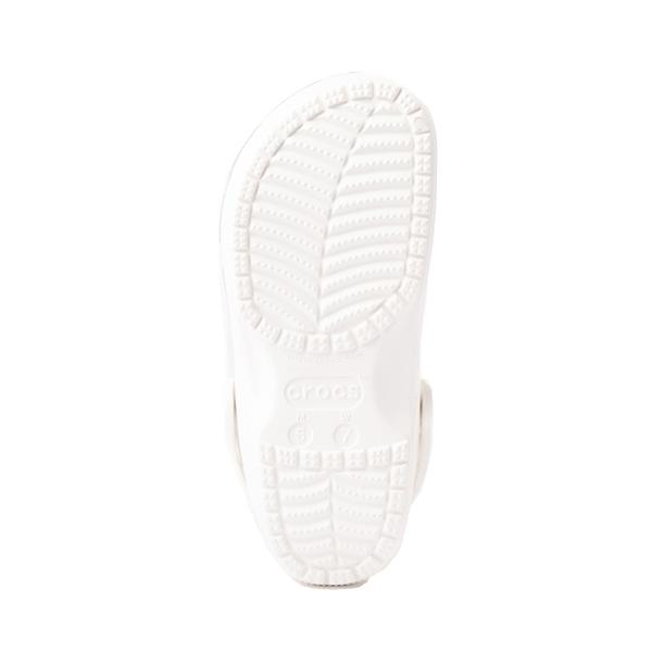 alternate view Crocs Classic Translucent Clog - WhiteALT3