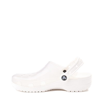 Alternate view of Crocs Classic Translucent Clog - White