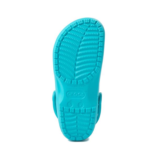 alternate view Crocs Classic Translucent Clog - Digital AquaALT3