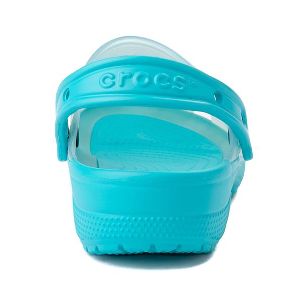 alternate view Crocs Classic Translucent Clog - Digital AquaALT4