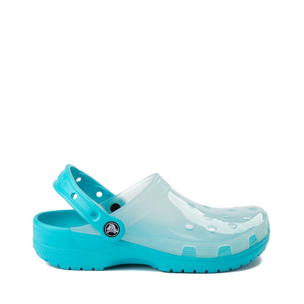 Crocs Classic Translucent Clog - Digital Aqua
