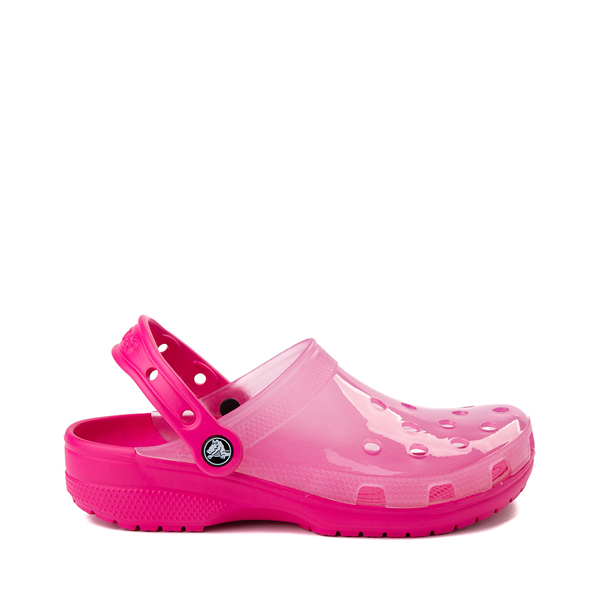 Main view of Crocs Classic Translucent Clog - Candy Pink