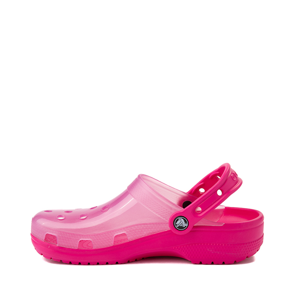 alternate view Crocs Classic Translucent Clog - Candy PinkALT1