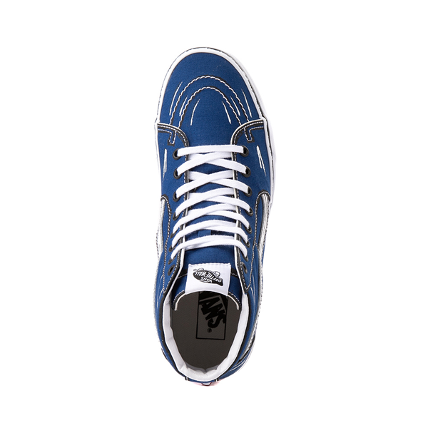 alternate view Vans Sk8 Hi Sketch Skate Shoe - True BlueALT2