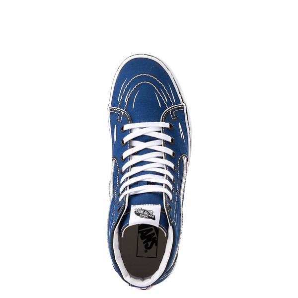 alternate view Vans Sk8 Hi Sketch Skate Shoe - True BlueALT4B