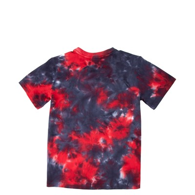 Alternate view of Fila Logo Tee - Little Kid / Big Kid - Black / Red Tie Dye