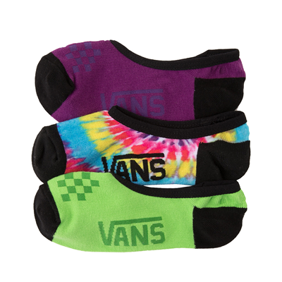 Alternate view of Womens Vans Canoodle Liners 3 Pack - Tie Dye