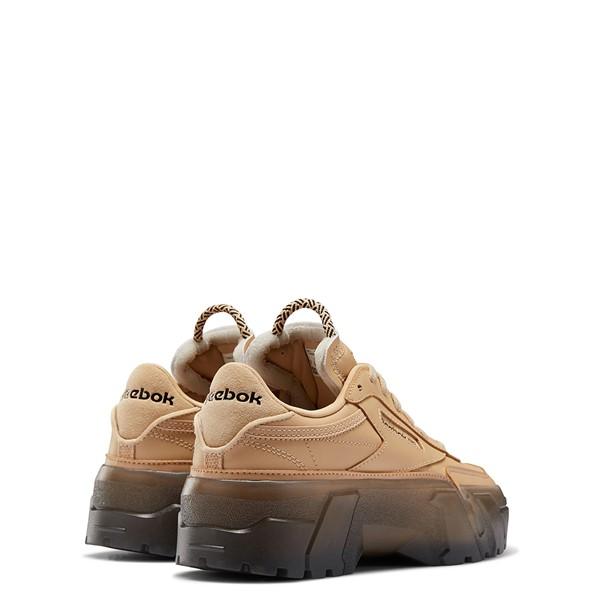 alternate view Reebok x Cardi B Club C Athletic Shoe - Big Kid - Tan / ClearALT4