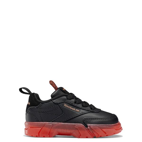Main view of Reebok x Cardi B Club C Athletic Shoe - Baby / Toddler - Black / Vector Red