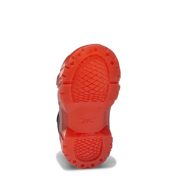 alternate view Reebok x Cardi B Club C Athletic Shoe - Baby / Toddler - Black / Vector RedALT3