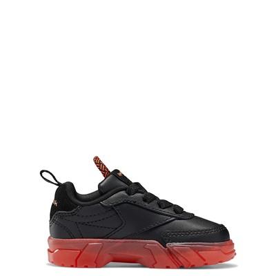 Alternate view of Reebok x Cardi B Club C Athletic Shoe - Baby / Toddler - Black / Vector Red