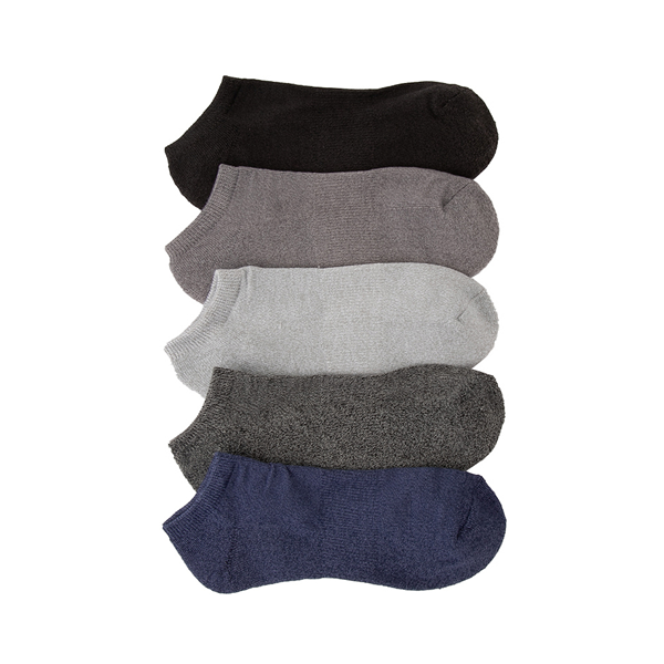 Mens Marled Cushion Footie Socks 5 Pack - Multicolor