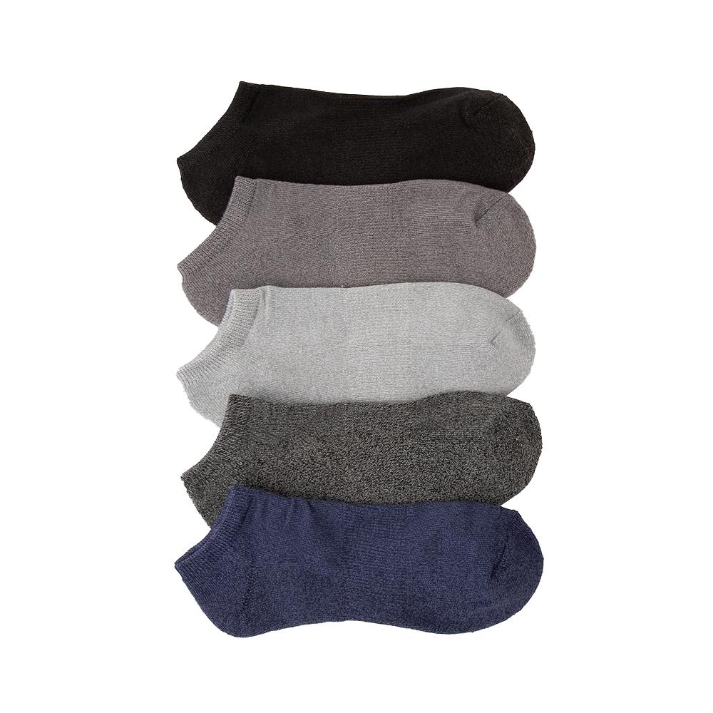 Mens Marled Cushion Footie Socks 5 Pack - Multicolor