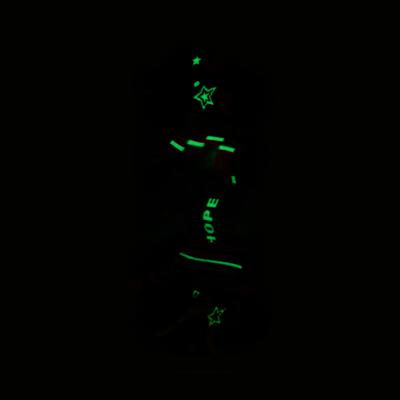 Alternate view of Fun Glow Footies 5 Pack - Baby - Multicolor