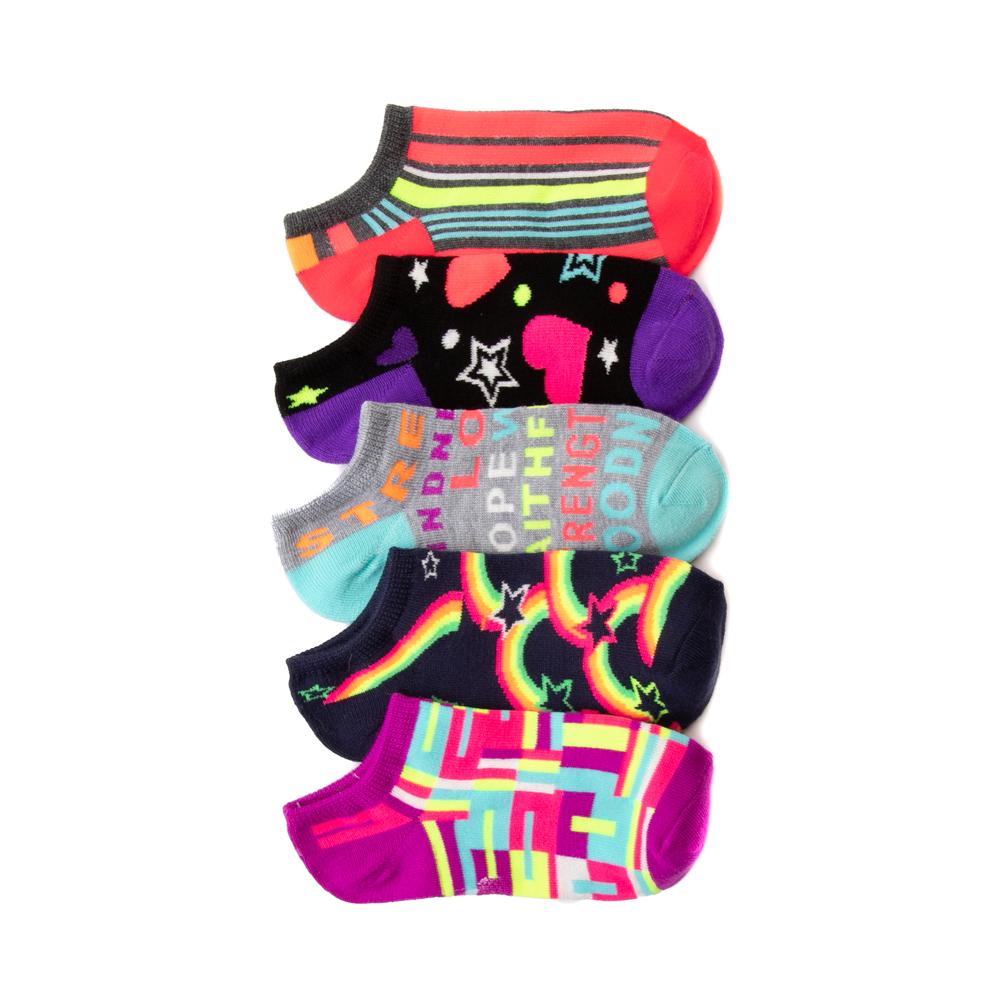 Fun Glow Footies 5 Pack - Little Kid - Multicolor