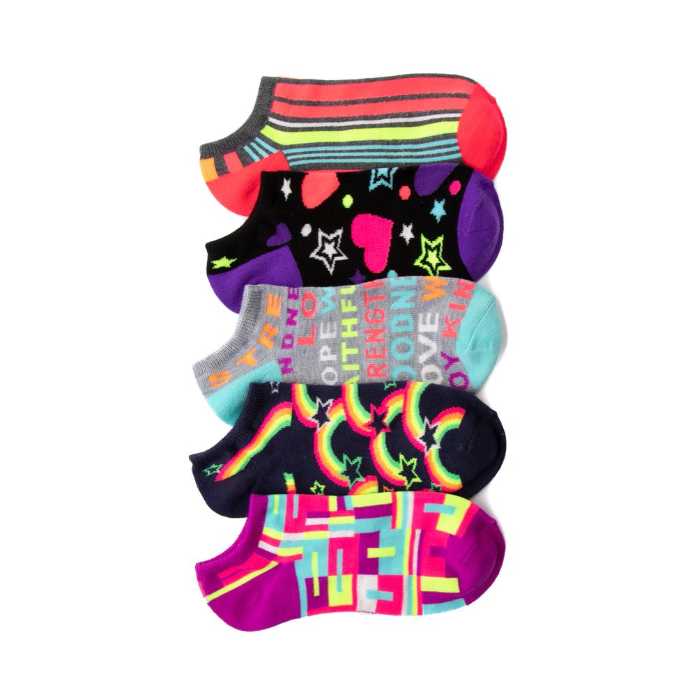 Fun Glow Footies 5 Pack - Big Kid - Multicolor