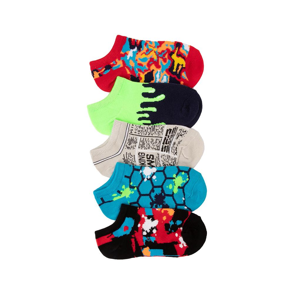 Glow Footies 5 Pack - Little Kid - Multicolor