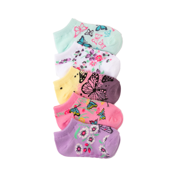 Butterfly Gripper Footies 5 Pack - Toddler - Multicolor