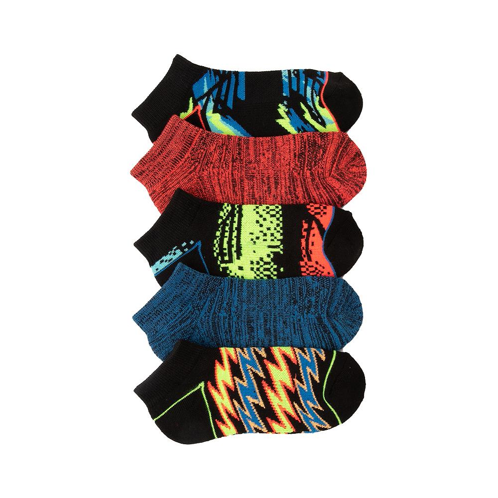 Space Dye Sport Low Cut Socks 5 Pack - Little Kid - Multicolor