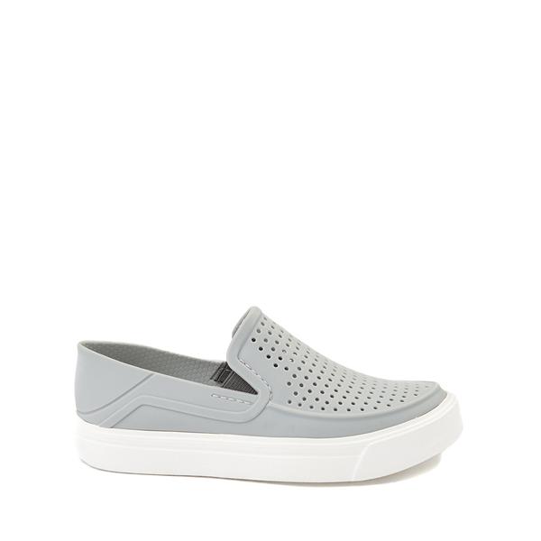 Main view of Crocs CitiLane Roka Slip On Casual Shoe - Little Kid - Light Gray