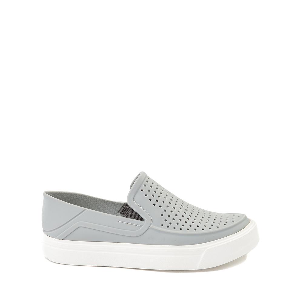 Crocs CitiLane Roka Slip On Casual Shoe - Little Kid - Light Gray