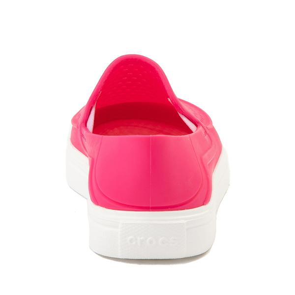 alternate view Crocs CitiLane Roka Slip On Casual Shoe - Little Kid - Paradise PinkALT4