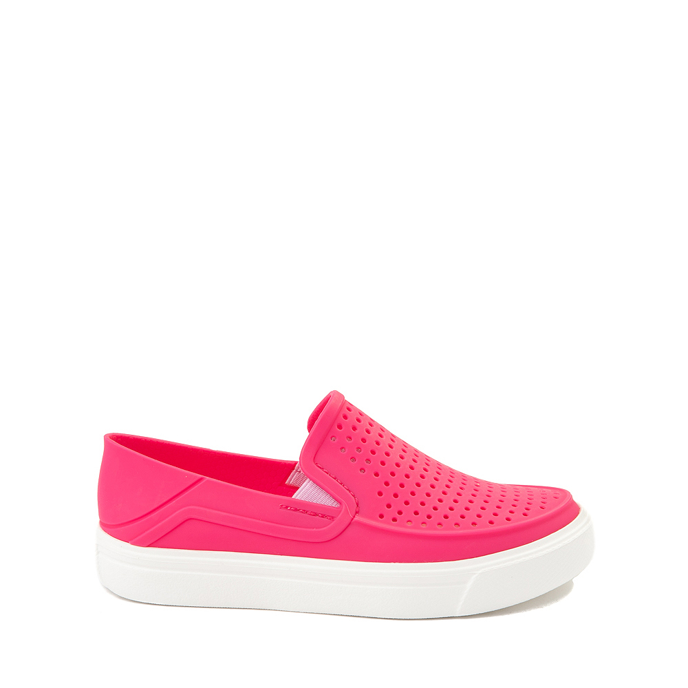 Crocs CitiLane Roka Slip On Casual Shoe - Little Kid - Paradise Pink