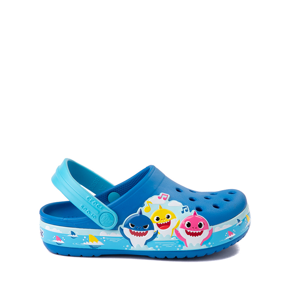 Crocs Fun Lab Baby Shark Clog - Baby / Toddler / Little Kid - Bright Cobalt