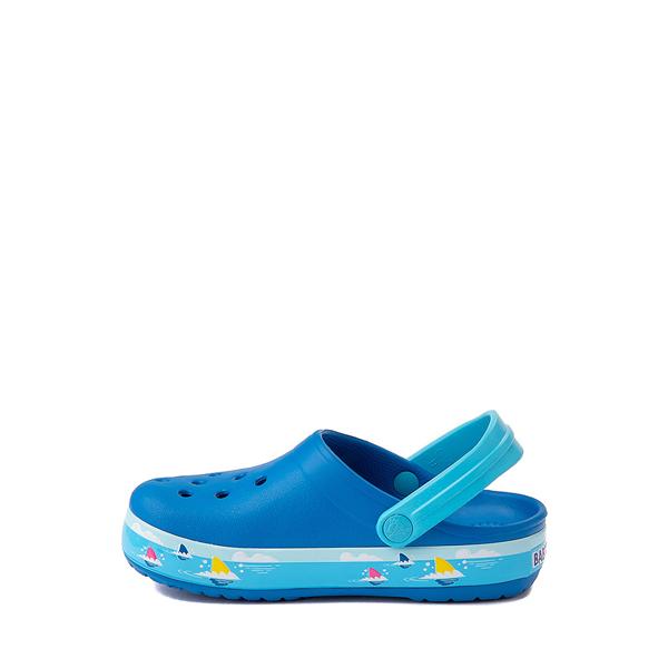 alternate view Crocs Fun Lab Baby Shark Clog - Baby / Toddler / Little Kid - Bright CobaltALT1