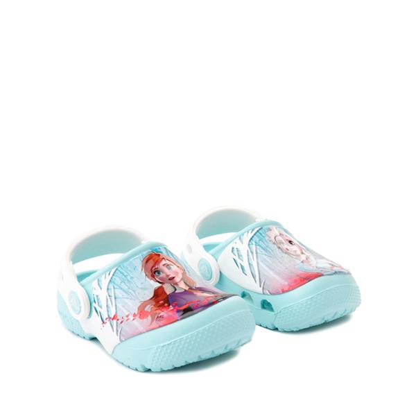 alternate view Crocs Fun Lab Disney Frozen II Clog - Baby / Toddler / Little Kid - Ice BlueALT5