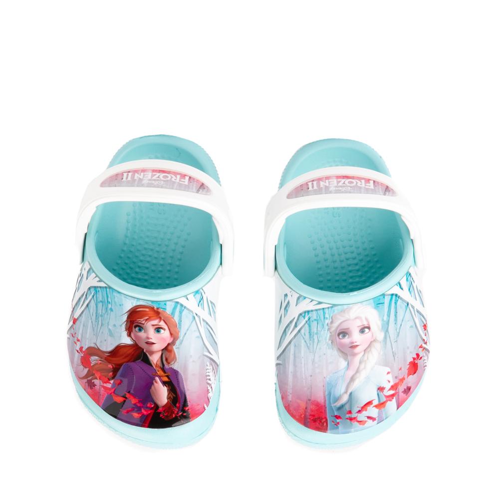 Crocs Fun Lab Disney Frozen II Clog - Baby / Toddler / Little Kid - Ice Blue